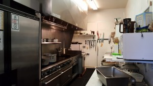 AFTER - kitchen you won't be afraid to eat from with wonderful food being prepared