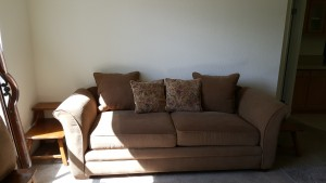 Queen Sleeper sofa I found like new