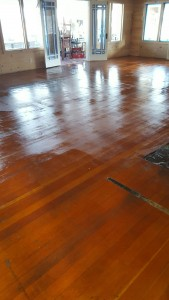 lodge floor after